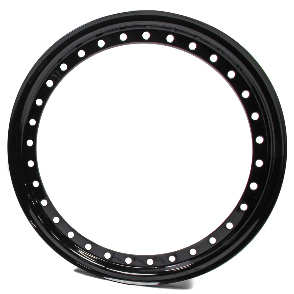 15in Outer Bead Lock Ring Black