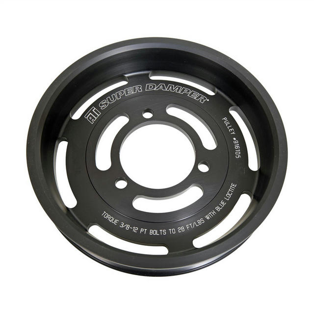 Pulley - Supercharger - 8-Groove - Cadillac