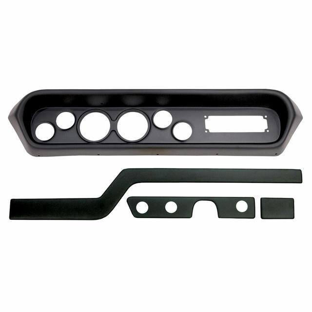 Direct Fit Gauge Panel GTO/Lemans 64-65 Black