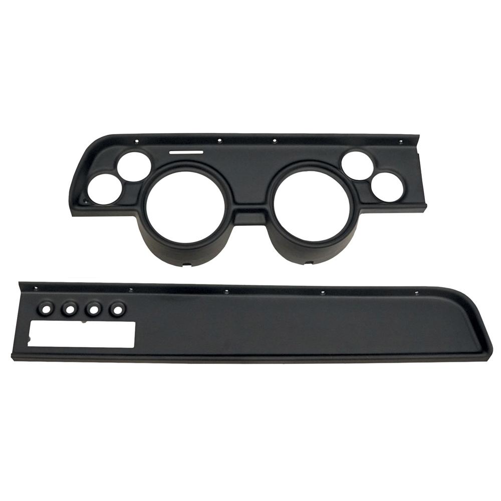 Direct Fit Gauge Panel Cougar 67-68 Black