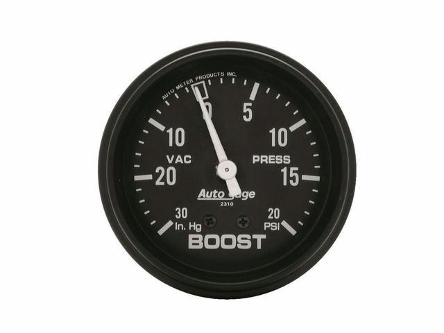 0-20/0-30 Turbo Boost A/