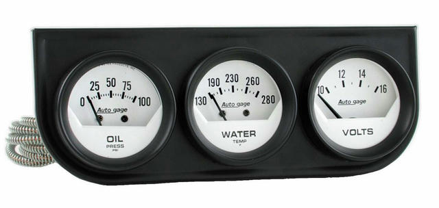 2-1/16in Oil/Volt/Water Short Sweep Console