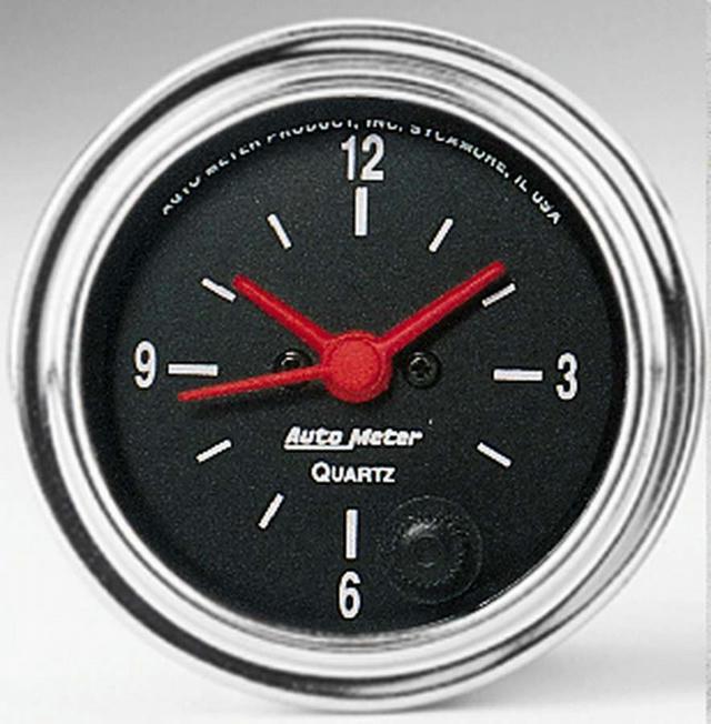 2-1/16 in Clock