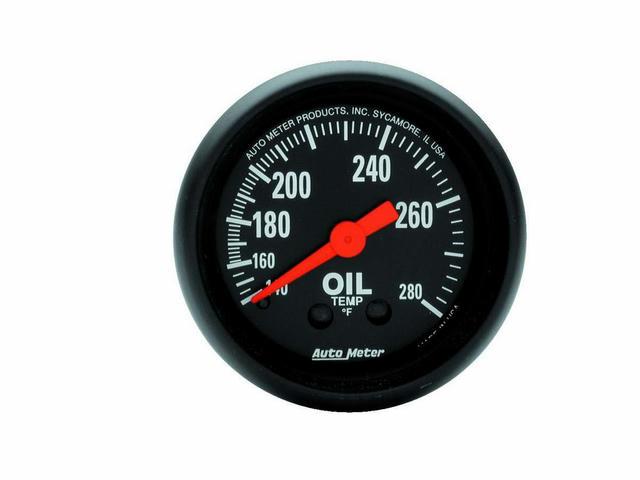 2-1/16 in Oil Temp. Gauge