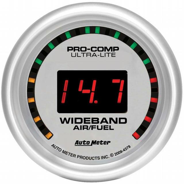 2-1/16 U/L Wide Band Street Air/Fuel Gauge
