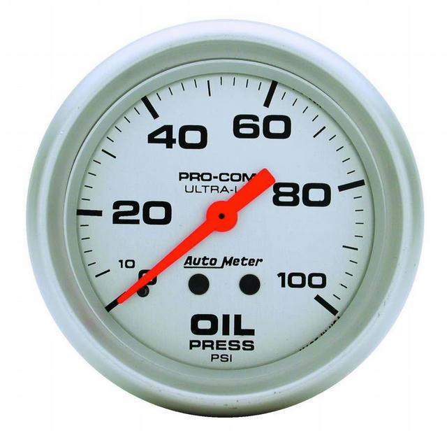 2-5/8in Mech Oil Pressure