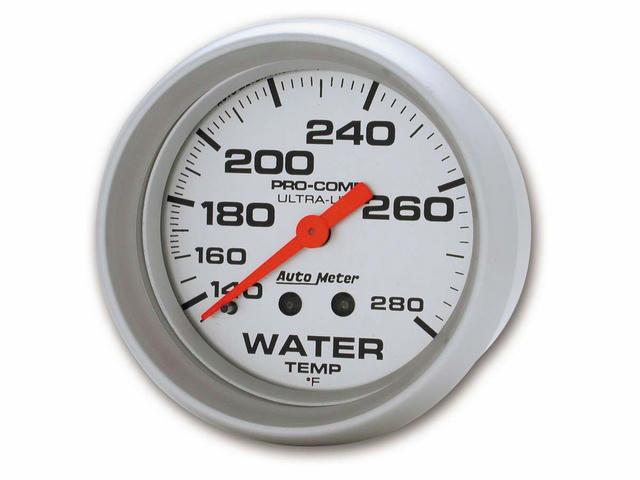 2-5/8in Mech Water Temp