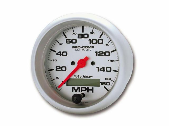 3-3/8in Ultra-Lite Elec. 160MPH Speedometer