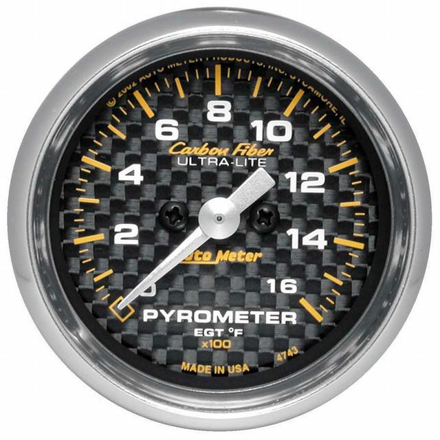 2-1/16in C/F 1600 Degree Pyrometer