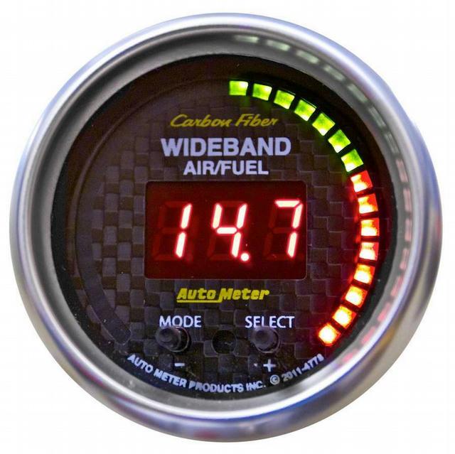 2-1/16 C/F Air/Fuel Ratio Gauge Wideband