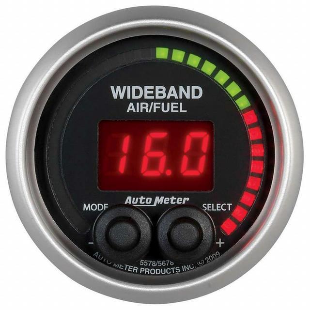 2-1/16 E/S Wideband Air/ Fuel Ratio Gauge