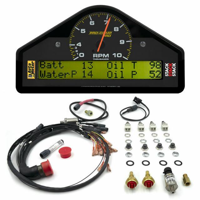 Pro-Comp Race Dash 0-4-10K RPM 7.5x4.0x1.5