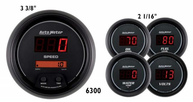 Digital 5-Gauge Kit - Sport Comp