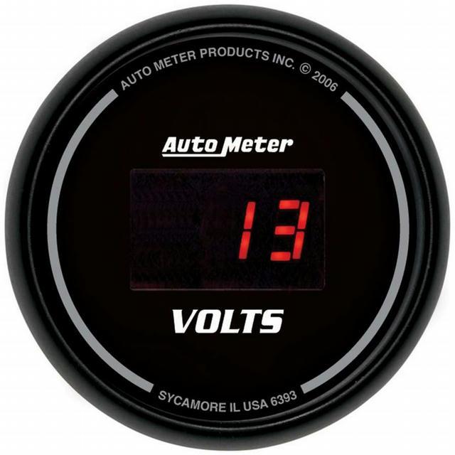 2-1/16in DG/B Voltmeter Gauge