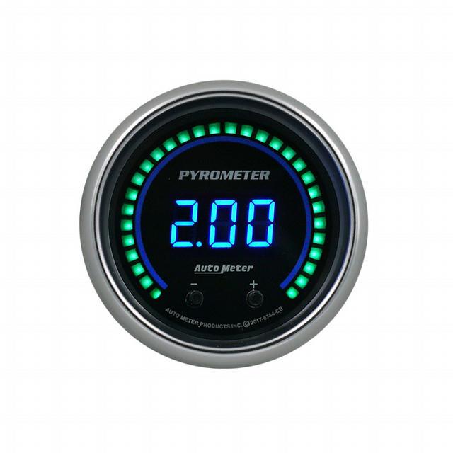 2-1/16 Pyrometer Gauge Elite Digital CB Series