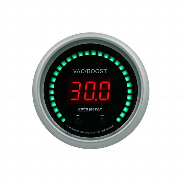 2-1/16 Vac/Boost Gauge Elite Digital SC Series