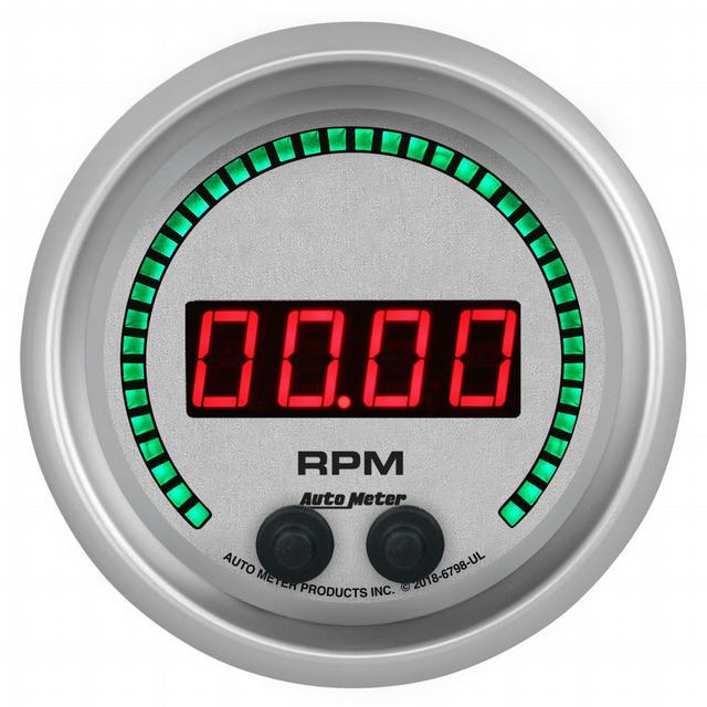 3-3/8 16K RPM Tachometer Elite Digital UL Series