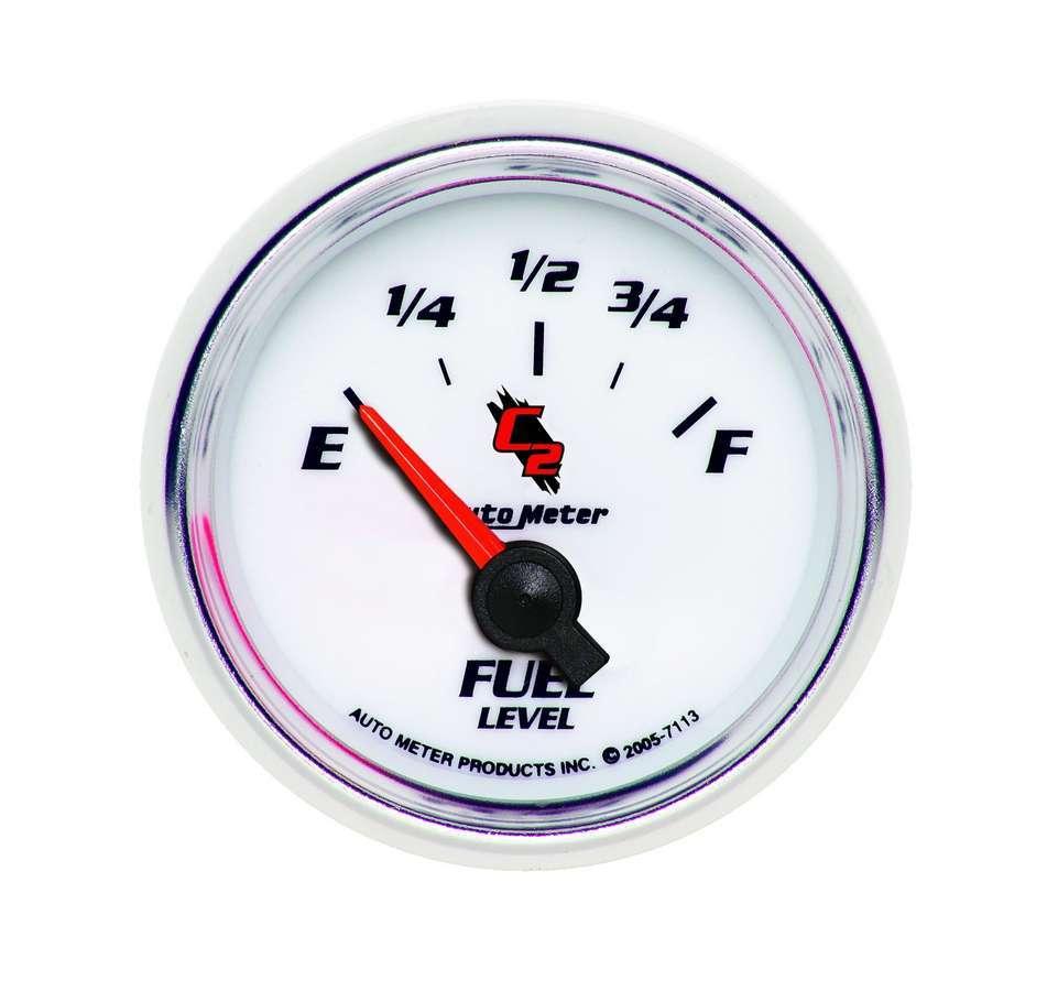 2-1/16in C2/S Fuel Level Gauge 0-90ohms