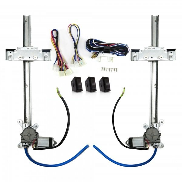 Power Window Kit With Switches