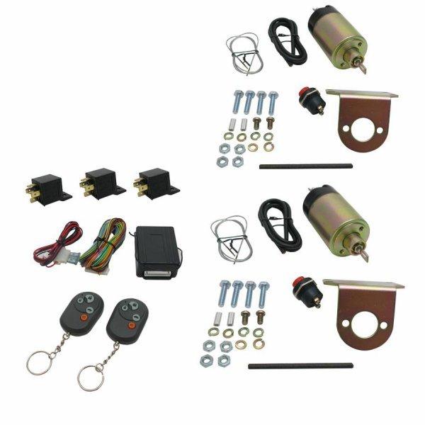 2 Door Remote Shaved Handle Kit 35lb Solen.