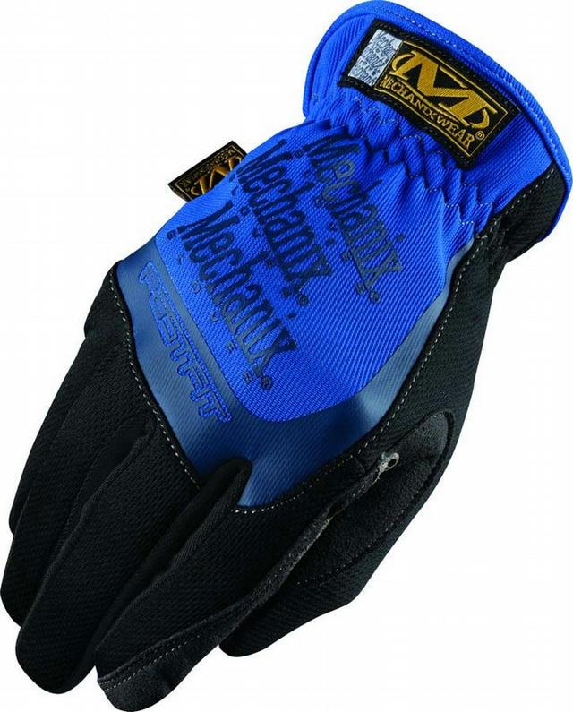 Fast Fit Gloves Blue Medium