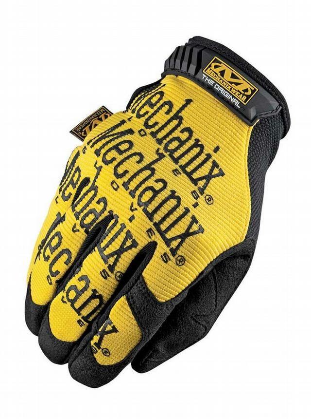 Mech Gloves Yellow Lrg