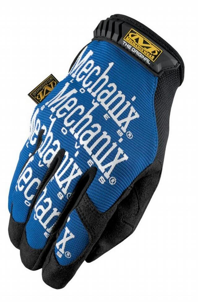 Mech Gloves Blue Med