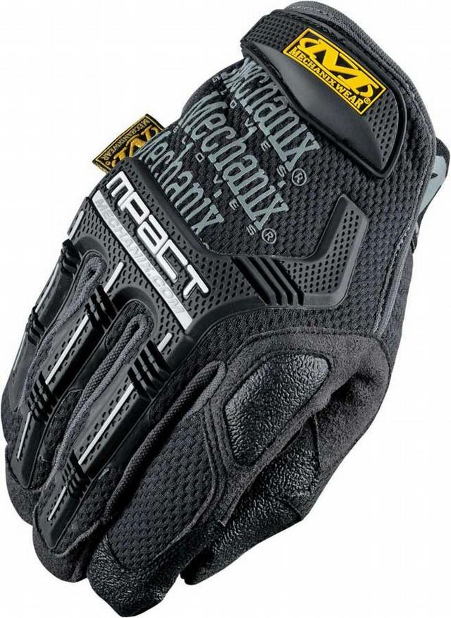 M-pact Gloves Black Med