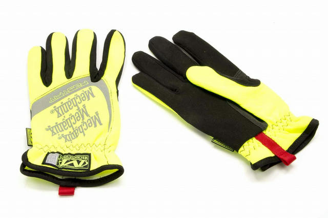 Fast Fit Gloves Yellow Med