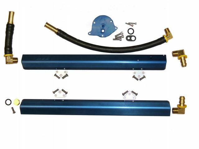Hi-Flow Alm. Fuel Rails - 86-93 5.0L Mustang