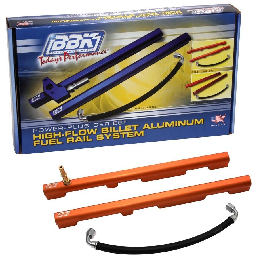 Hi-Flow Billet Alum. Fuel Rail Kit - Mopar