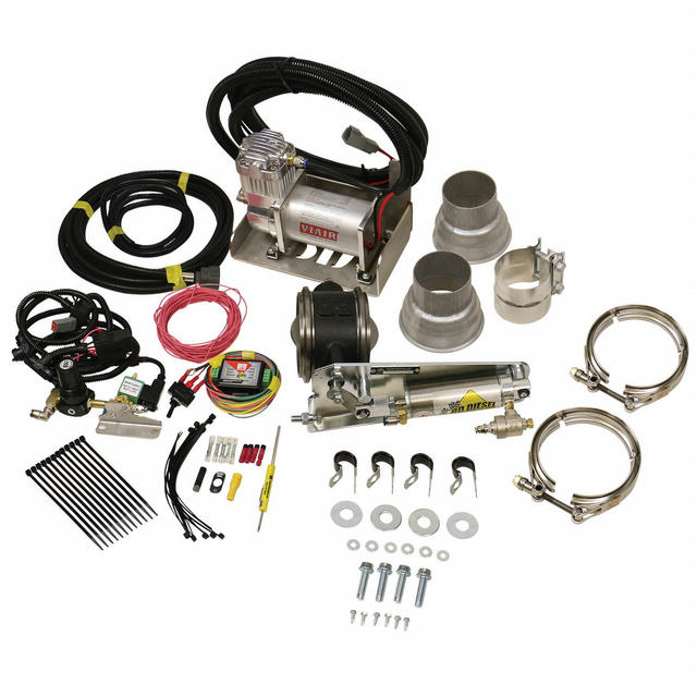Exhaust Brake Universal 3in w/Air Compressor