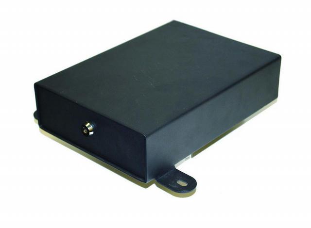 Underseat Lock Box Black