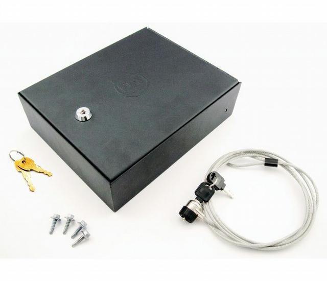 Black-Lock Box for Truck Center Console/Universal