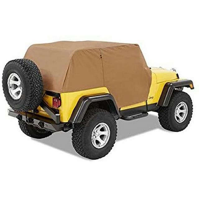 07-18 Jeep Wrangler 2 Dr Trail Cover Black