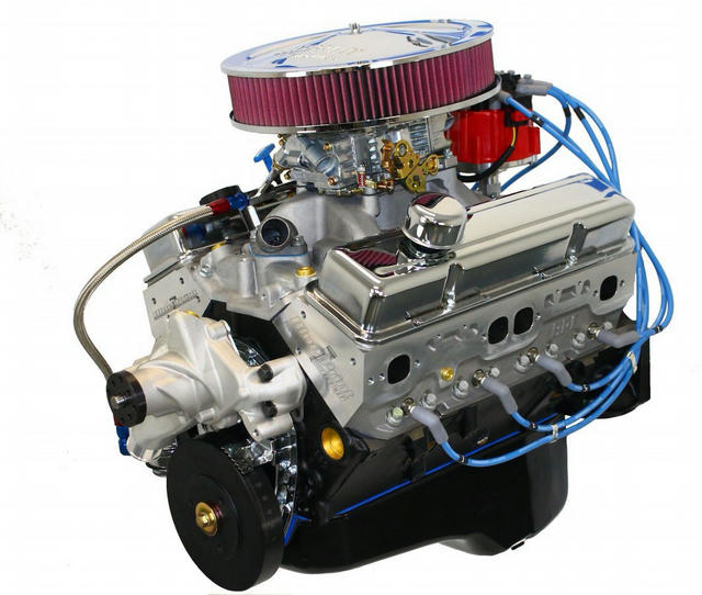 SBC 383 Crate Engine Fulley Dressed