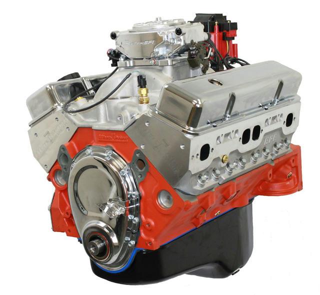 SBC Base Dressed Crate Engine 383 CID