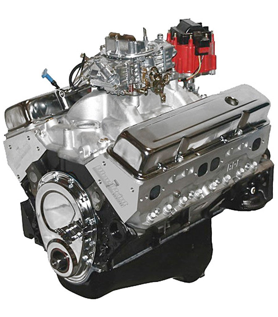 Crate Engine - SBC 396 491HP Dressed Model