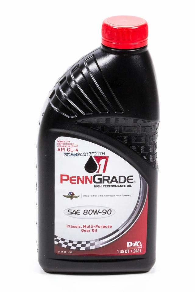 80w90 Hypoid Gear Oil 1 Qt. GL-4