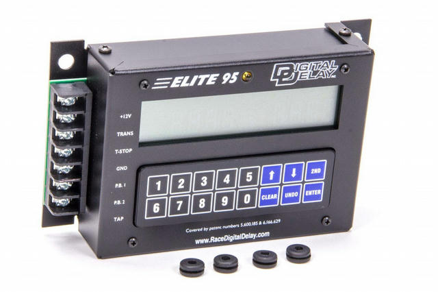 Elite 95 Delay Box Black w/Red Backlight