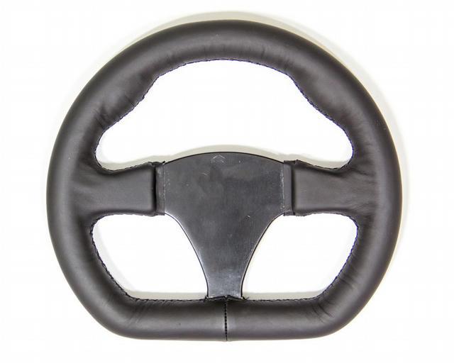 Black Leather Steering Wheel