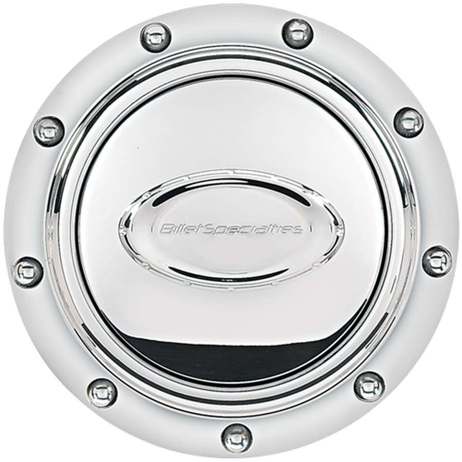 Horn Button Riveted Polished Logo