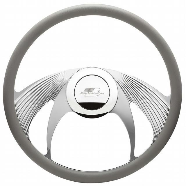 Steering Wheel Half Wrap 15.5in Phantom