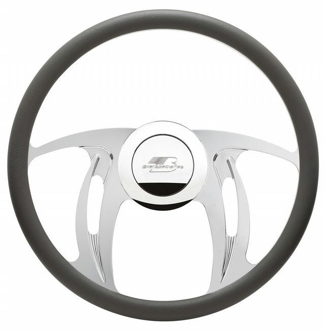 Steering Wheel Half Wrap 15.5in Hurricane