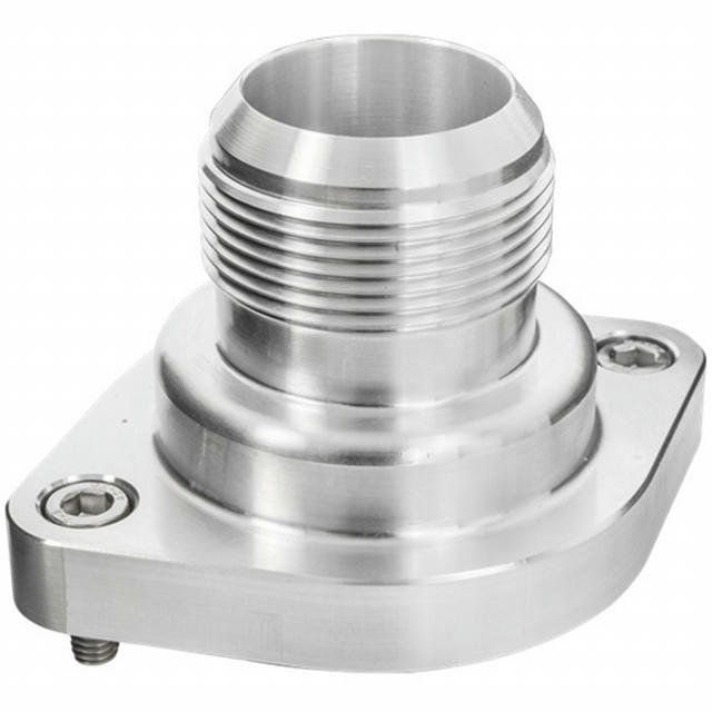 LS Thermostat Housing w/ 20AN Male Nipple Anodizd