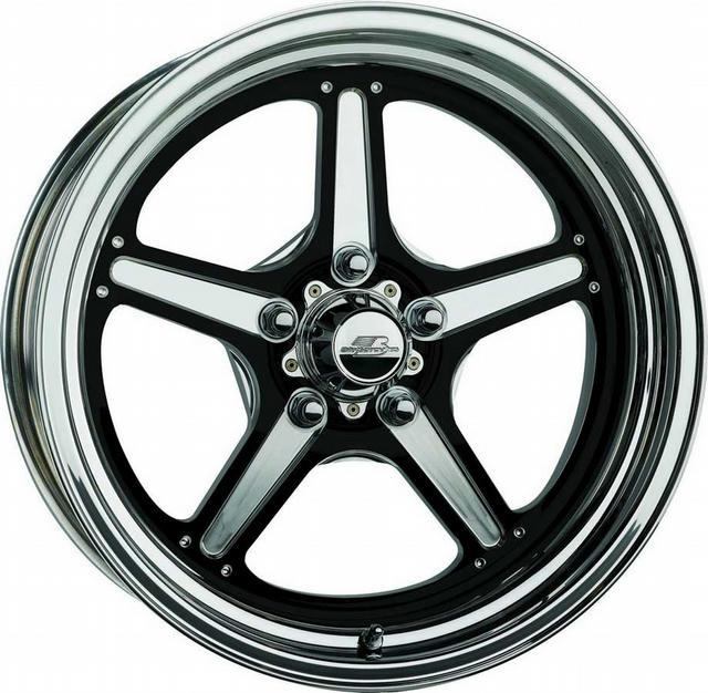 Street Lite Wheel Black 15X4 1.625in BS
