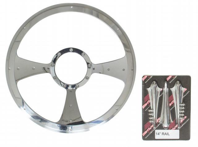 Rail - Profile Steering Wheel 14in