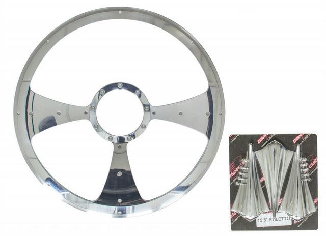 Stiletto - Profile Steering Wheel 15.5in