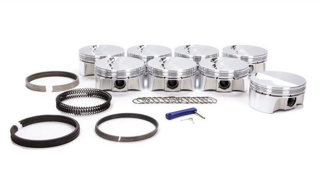 SBC F/T Piston Set w/Rings 4.020 Bore