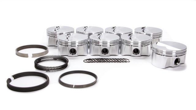 SBC F/T Piston Set w/Rings 4.060 Bore